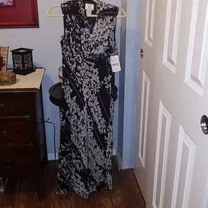 Ice 100% silk beaded dress. New with tags